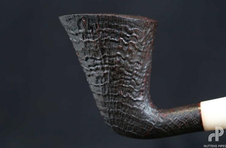 dublin bent rings acrylique ivoire